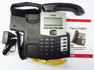 IP телефон  Fanvil C58