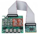 Интерфейсная плата OpenVox A400M