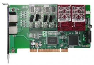 Интерфейсная плата (8FXO/8FXS) Atcom AX-800P