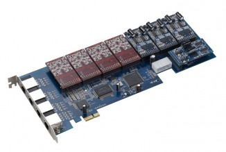 Интерфейсная плата (16FXO/16FXS) Atcom AXE-1600P