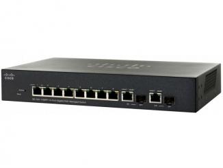 Коммутатор Cisco SG300-10MPP-K9-EU