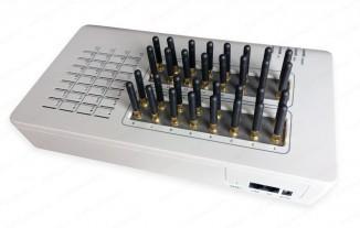 VoIP-GSM-шлюз, короткие антенны GoIP 32