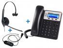 Комплект гарнитуры Jabra BIZ 1500 Mono QD и IP-телефона Grandstream GXP1620