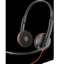 Проводная гарнитура (СТЕРЕО, USB-C) Plantronics Blackwire C3220-C
