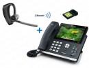 Комплект Plantronics Voyager Legend UC, BT-40 и IP-телефона Yealink SIP-T48S