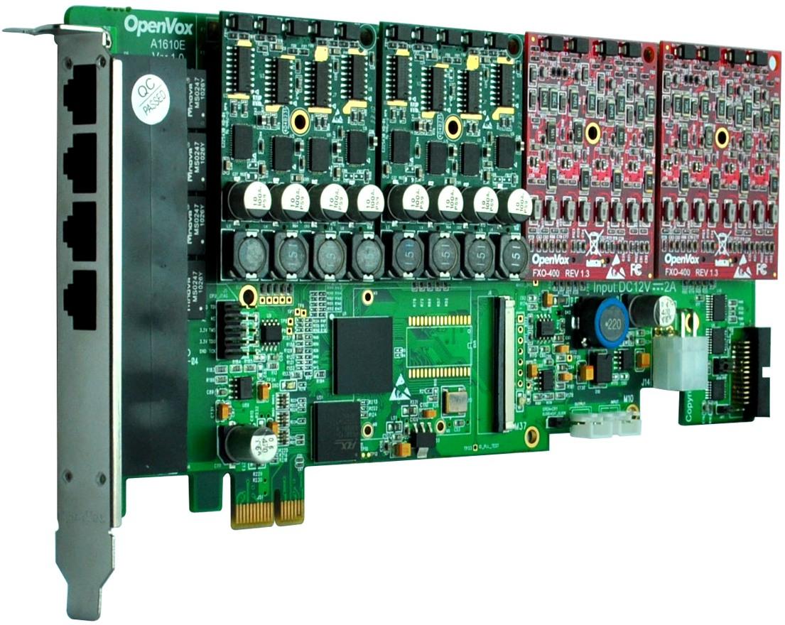 OpenVox A1610E - Интерфейсная плата 2150