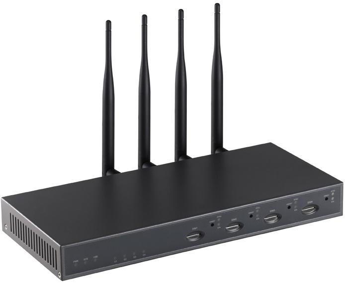 Atcom IP-4G - IP-АТС (4 канала GSM) 1451