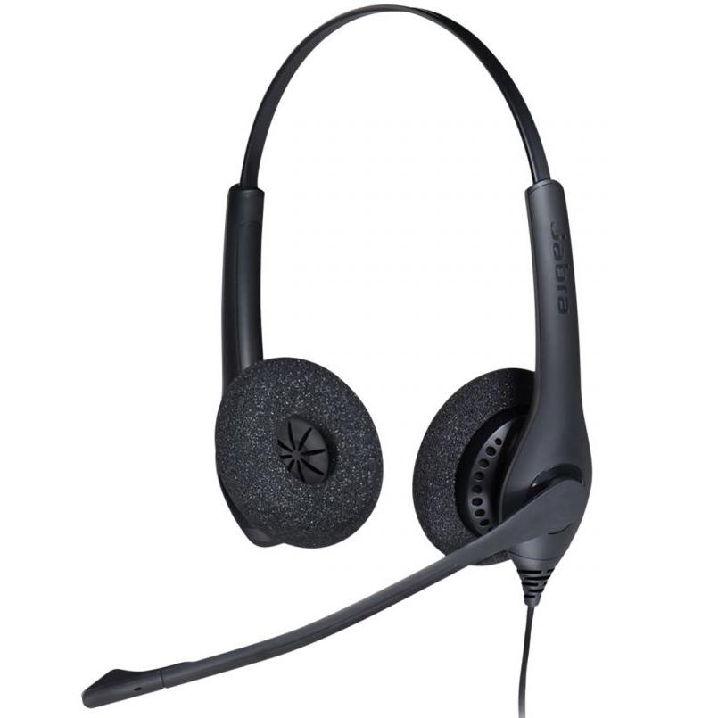 Комплект гарнитуры Jabra BIZ 1500 Duo QD и IP-телефона Yealink SIP-T21P E2 886690e3c0332