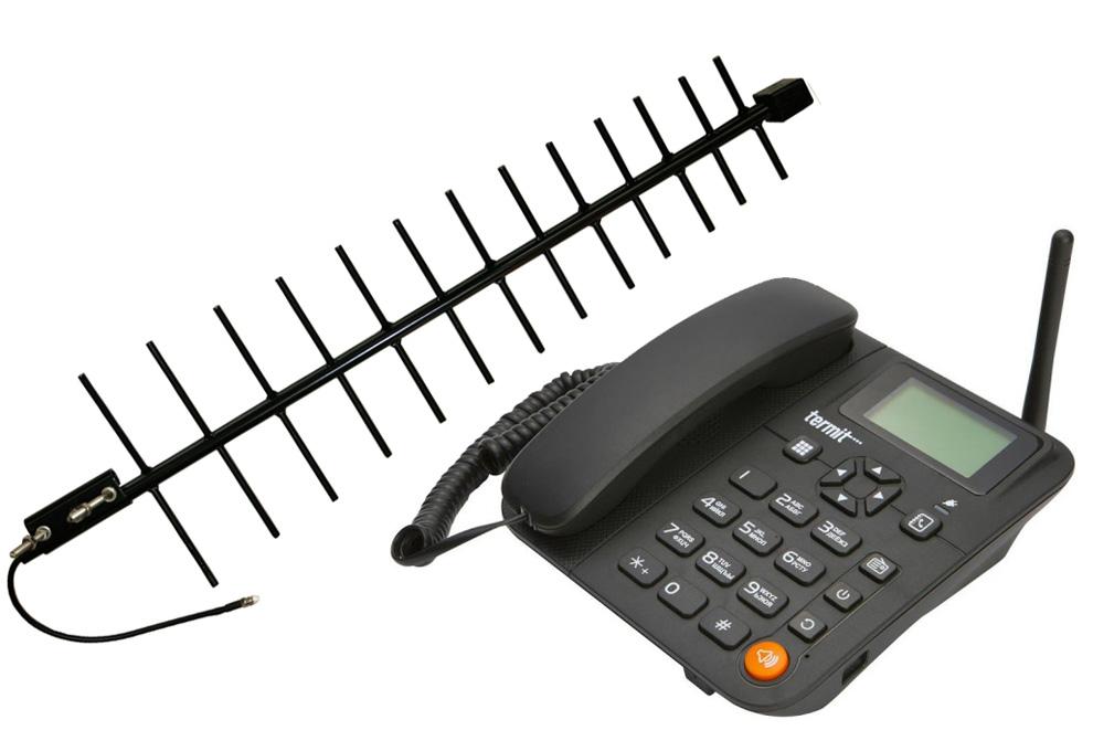 Termit FixPhone v2 KIT - Телефон сотовый стационарный 2691C