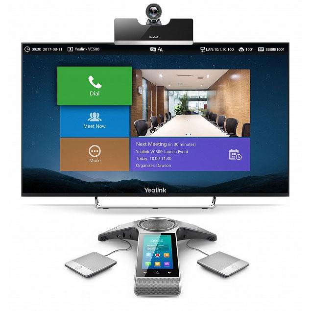 Yealink VC500-Phone-Wired - Терминал видеоконференцсвязи 4577C