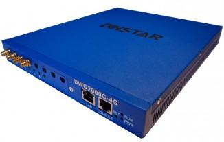 VoIP-GSM шлюз  Dinstar DWG2000C-4GSM