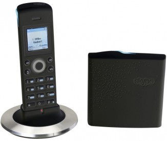 Skype телефон  (black) Dualphone 4088RU