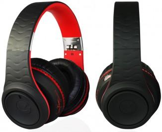 Наушники черные с красным Fanny Wang FW-3003