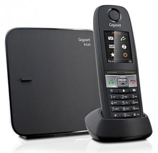Телефон Gigaset E630 (Turtle) RUS BLACK