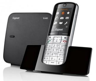 Телефон Gigaset SL400  RUS Metal