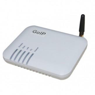 VoIP-GSM шлюз  (GSM+FXS) GoIP GS1
