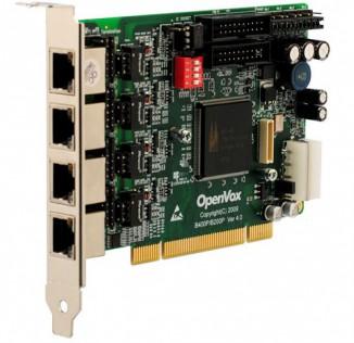Интерфейсная плата OpenVox B400P