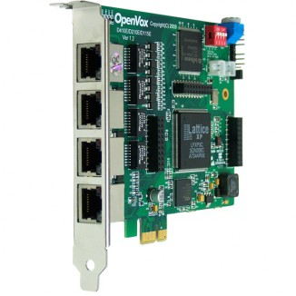 Интерфейсная плата OpenVox DE410E