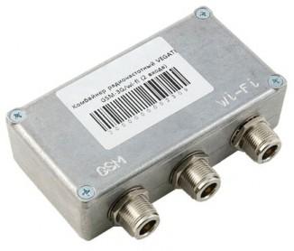 Комбайнер радиочастотный (2 входа) VEGATEL GSM-3G/Wi-Fi