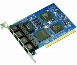 Интерфейсная плата (4 потока Е1) Atcom AX-4E