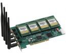 Интерфейсная плата (4 канала GSM) Atcom AX-4G