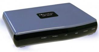 Аналоговый телефонный адаптер AudioCodes MP202C-A/2S/SIP