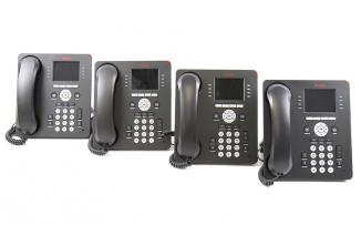 Комплект из 4 IP-телефонов Avaya IP PHONE 9611G GLOBAL 4 PK