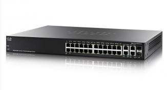 Коммутатор Cisco SF300-24MP-K9-EU