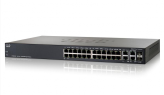 Коммутатор Cisco SF300-24PP-K9-EU