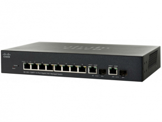 Коммутатор Cisco SG300-10MPP-K9-EU