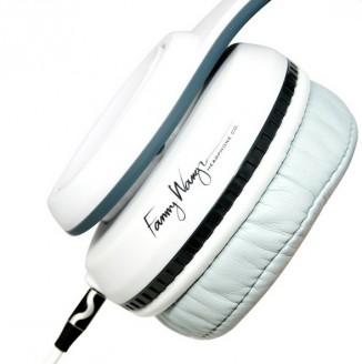 Наушники белые Fanny Wang FW-3003
