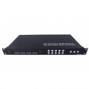 4x4 и контроллер видеостены 2x2 CleverMic VWC 22 (HDMI, Full HD) Матричный переключатель