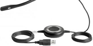 Гарнитура 3 в 1  Jabra Biz 2400 II USB Mono BT MS