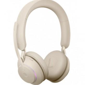 Bluetooth гарнитура Jabra EVOLVE2 65 Link 380A UC Stereo Beige