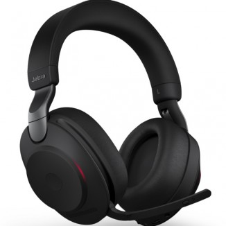 Bluetooth-гарнитура и зарядная база Jabra EVOLVE2 85 Link 380A UC Stereo stand Black