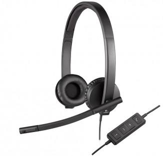 Гарнитура Logitech USB Headset Stereo H570e