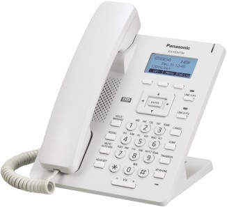 SIP-DECT телефон белый Panasonic KX-HDV130RU