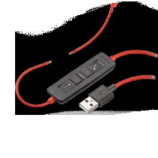 Проводная гарнитура (USB-A) Plantronics Blackwire C3210-A