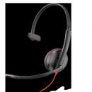 Проводная гаритура (JACK 3.5/USB-A) Plantronics Blackwire C3215-A