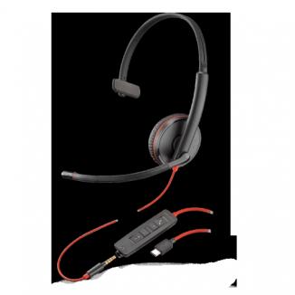 Проводная гаритура (JACK 3.5/USB-C) Plantronics Blackwire C3215-C