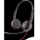 Проводная гарнитура (СТЕРЕО, JACK 3.5/USB-С) Plantronics Blackwire C3225-С