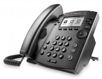 Бизнес медиа телефон Polycom VVX 310