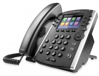 Бизнес медиа телефон Polycom VVX 410