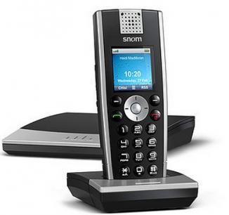 DECT VoIP-телефон Snom M9R