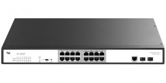 Коммутатор управляемый TG-NET P3018M-16PoE-300W-V4