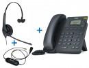 Комплект гарнитуры Jabra BIZ 1500 Mono QD и IP-телефона Yealink SIP-T19 E2