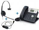 Комплект гарнитуры Jabra BIZ 1500 Mono QD и IP-телефона Yealink SIP-T21P E2