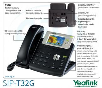 SIP-телефон Yealink SIP-T32G